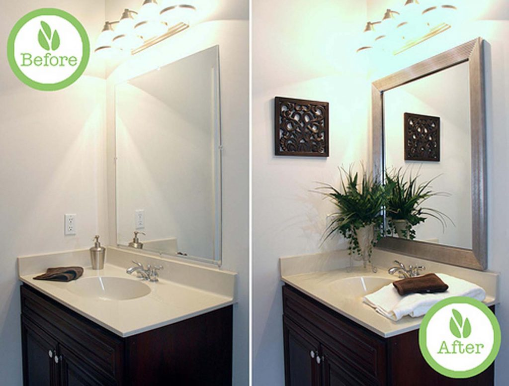 bathroom sink design before & after