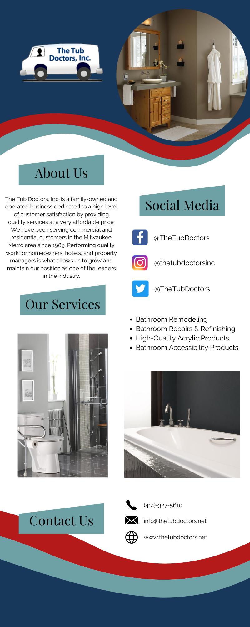 Wisconsin's Number One Bathroom Remodeling Contractors 3